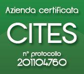 Azienda Certificata CITES