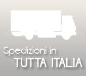 Spedizioni settimanali in tutta Italia